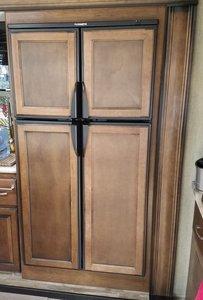 Deluxe Double Door RV Refrigerator