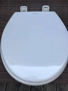 Dometic SlowClose seat for rvboat toilet  Bone round