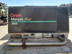 Onan 5500 RV generator low hours good condition