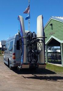 Kayak and Bike Rack Combined  Yakup