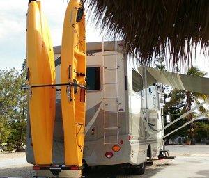 RV Kayak Rack