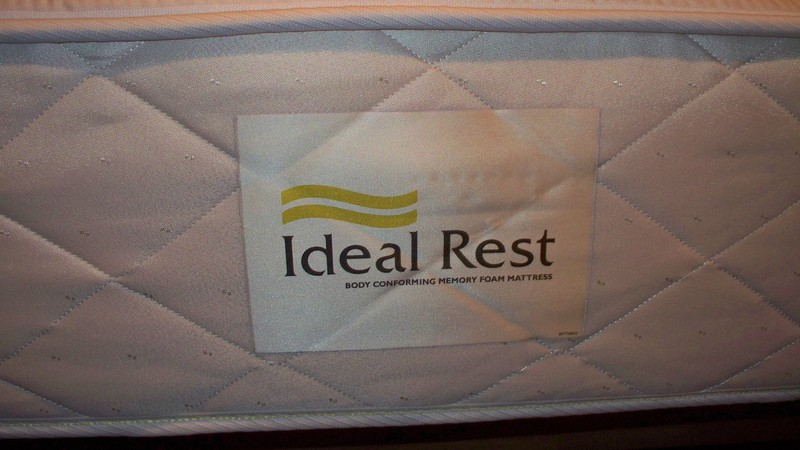Parts & Accessories - King Size Memory Foam Mattress Ideal Rest