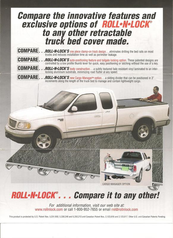 Parts & Accessories - TRUCK BED COVER ROLL-N-LOCK