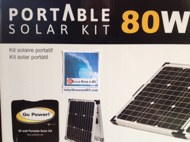 Parts & Accessories - 80 Watt Portable and Foldable Solar Charging Kit