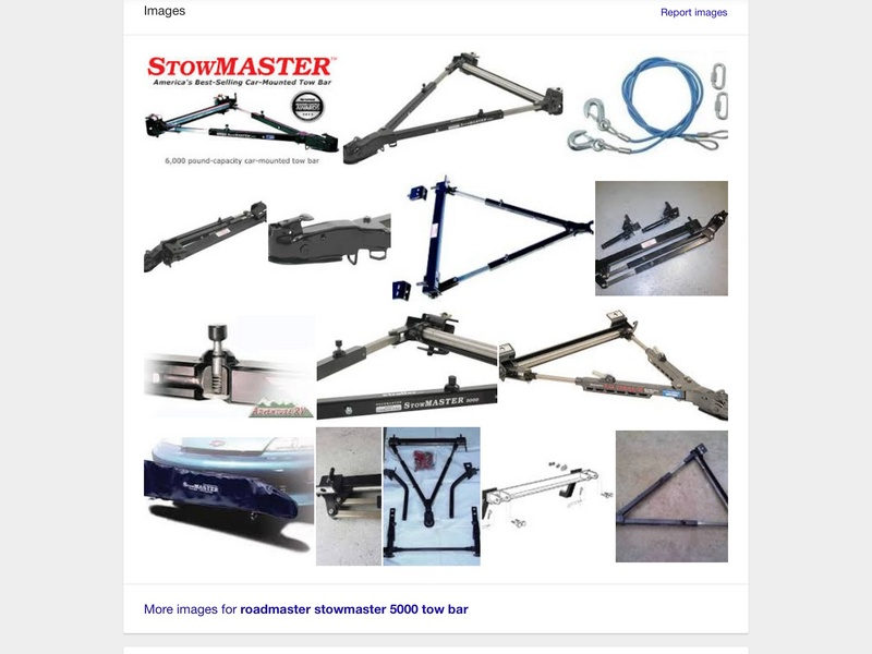 Parts & Accessories - Stowmaster by Roadmaster (used)