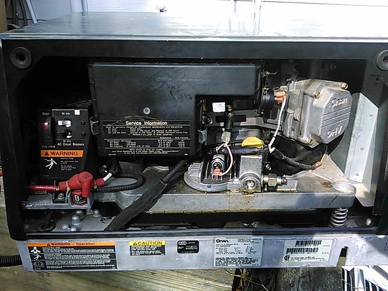 Rv Dealers In Ohio >> Parts & Accessories | Onan Marquis Gold 5500 Gas Generator ...